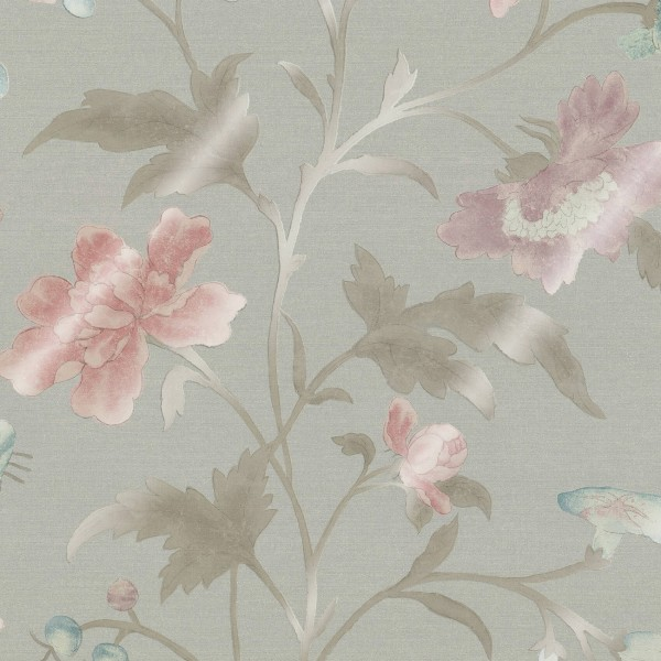 China Rose - FRENCH GREY LUSTRE